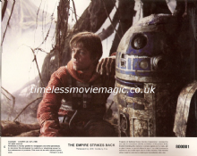 Empire Strikes Back, Original Movie Still, Luke Skywalker, R2D2, '80